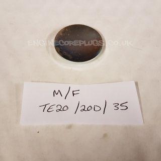 MF TE20 20D 35 automotive Dish core plug