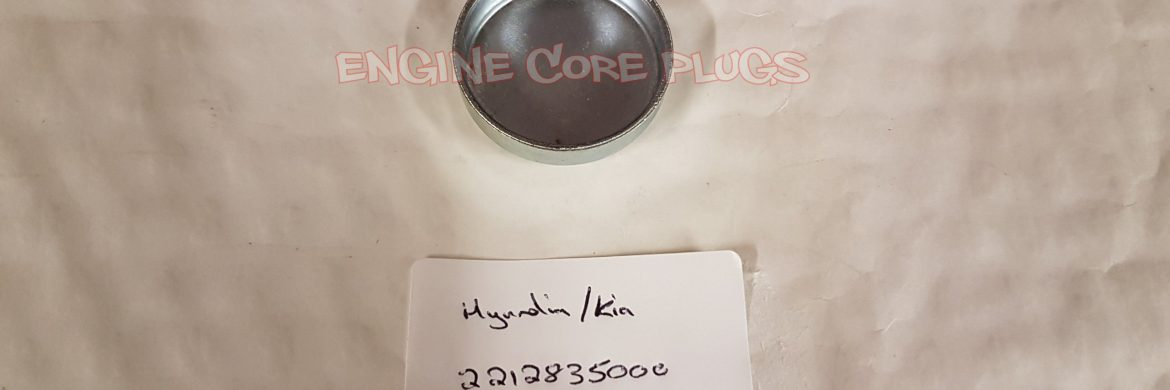 Hyundai Kia 221283500 automotive cup core plug